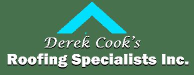 Derek Cook's Roofing Specialists, INC. Logo
